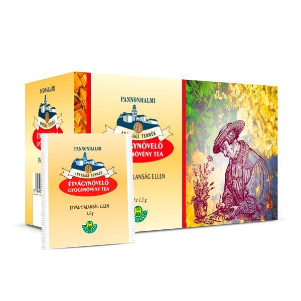 Étvágynövelő tea