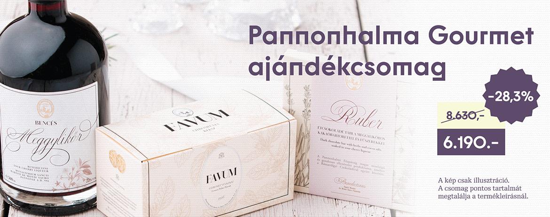Pannonhalma Gourmet ajándékcsomag