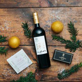Vörösboros karácsonyi csomag